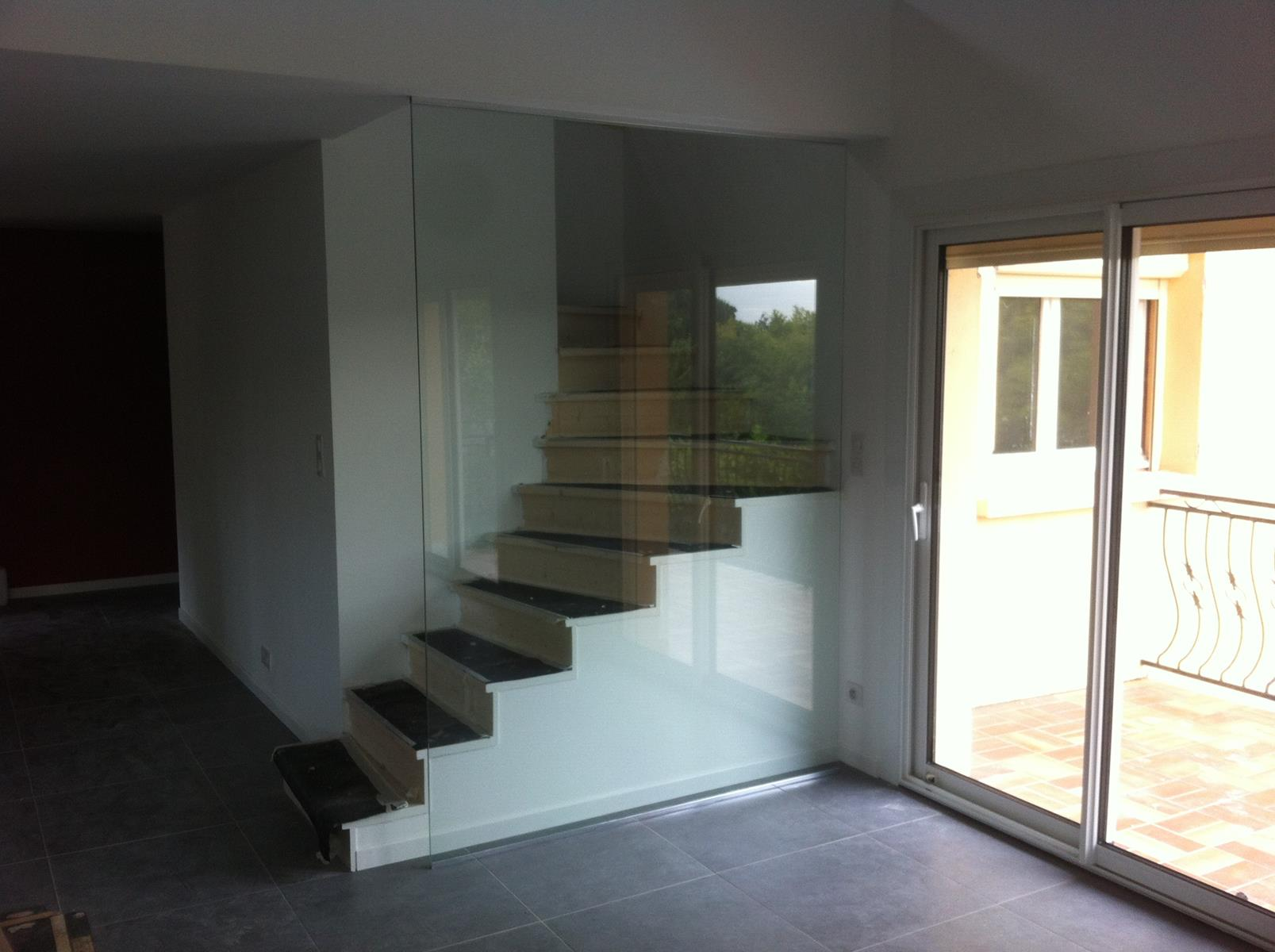 Am nagement int rieur siala for Cloison en verre interieur