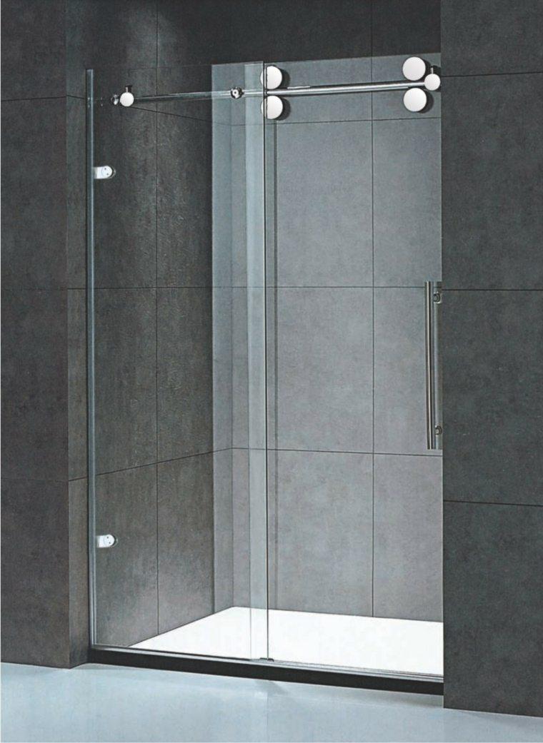 Am nagement int rieur paroi ou cabine de douche siala - Porte coulissante douche 100 ...